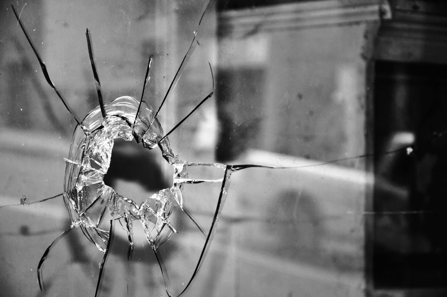 Bullet Hole - Jamestown, NY