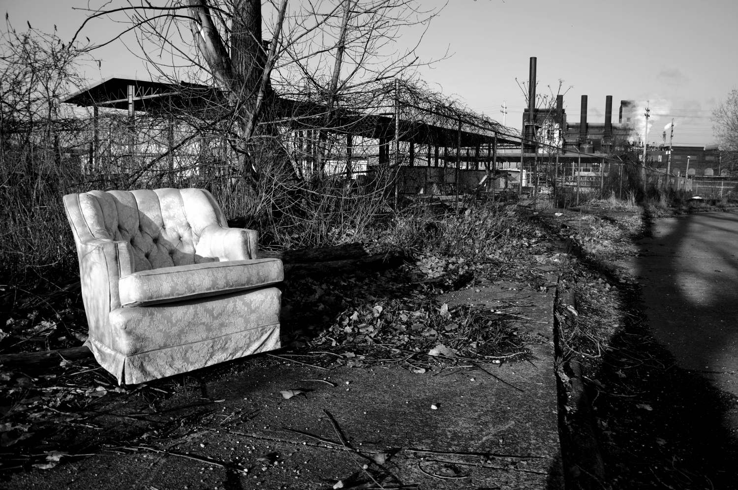 Abandoned Chair - Cleveland